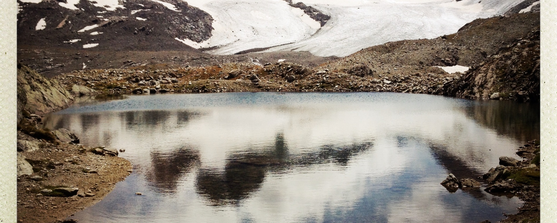 glacier de l'étendard