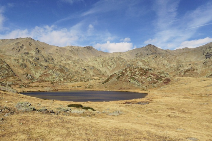 couleurs d'automne au lac de la cula