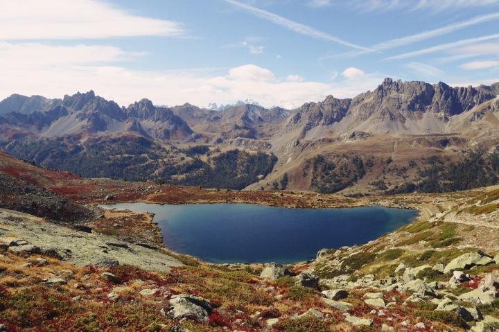 lac laramon automne vallée de la Clarée