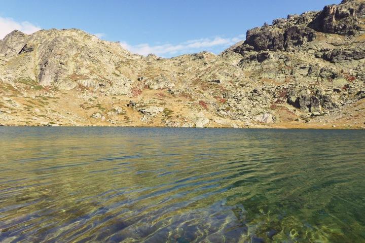 lac du serpent automne vallée de la Clarée
