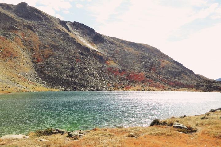 lac du serpent à l'automne