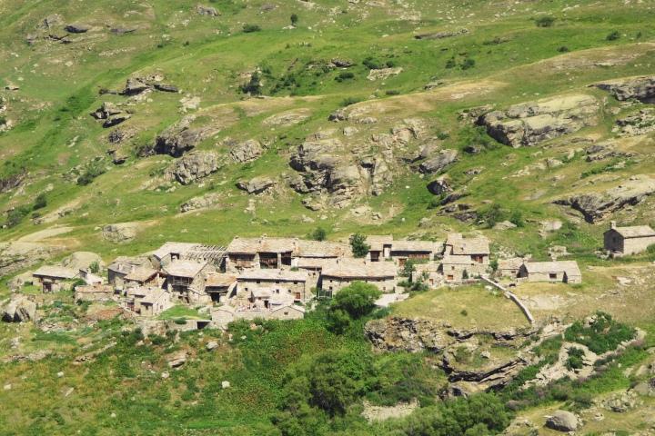 Le village de L'Ecot
